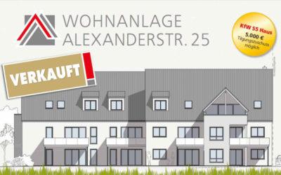 WOHNANLAGE ALEXANDERSTRASSE 25
